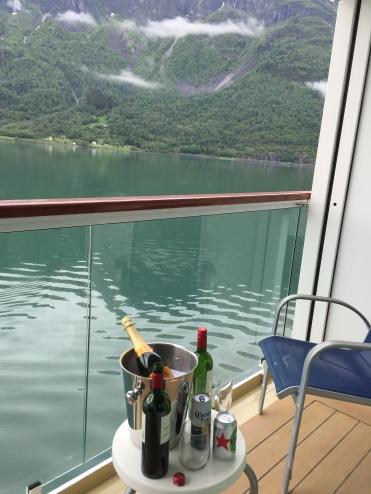 Norwegian Jade balcony