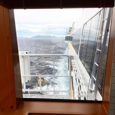 Norwegian Jade spa view