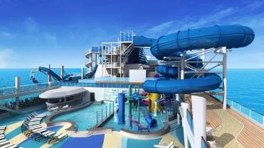 Norwegian Encore - Aqua Park